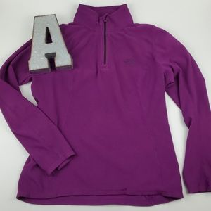 The North Face Tech 1/4 Zip Fleece Sweater Top